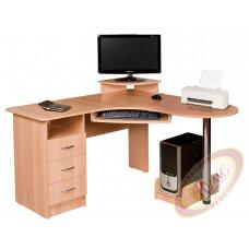 Стол компьютерный угловой Омега (1350*1350*870)