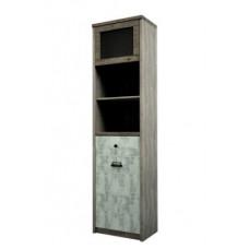 DIEZEL, Шкаф с витриной 1V1D1S2N/D1