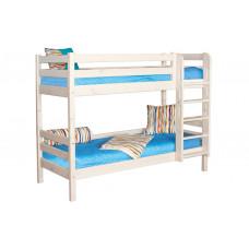Двухъярусная кровать Соня с прямой лестницей (Вариант 9)