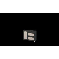 Грета 119.06 Тумба комбинированная