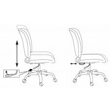 Кресло Бюрократ CH-H322SXN спинка динамичная поддержка