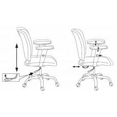 Кресло Бюрократ CH-H323AXSN спинка динамичная поддержка