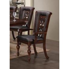 Кресло MK-4520-LW LUSA цвет: Light Walnut - с мягким сиденьем и спинкой (по 2 шт./1 кор.)