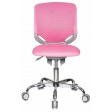 Кресло детское Бюрократ KD-7  крестовина хром колеса серый (пластик серый)