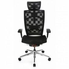 Кресло руководителя Бюрократ 811 эргономичная сетка черный