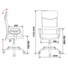 Кресло руководителя Бюрократ CH-600 искусственная кожа