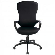 Кресло руководителя Бюрократ CH-818AXSN  черный