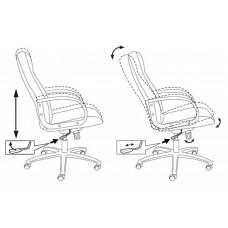Кресло руководителя Бюрократ T-898AXSN  ткань