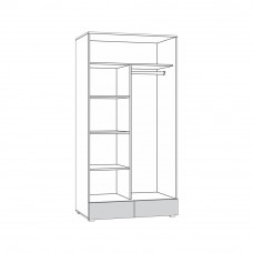 Линда 305 Шкаф 2-х дверный