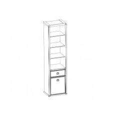 Шкаф открытый MAGELLAN 1D1S