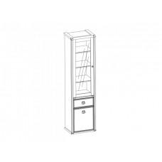 Шкаф с витриной MAGELLAN 1V1D1S