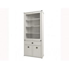 Шкаф с витриной MAGELLAN 2V2D1S