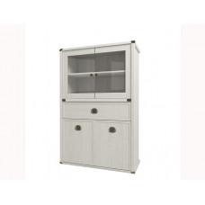 Шкаф с витриной MAGELLAN 2V2D1SL