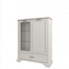 Шкаф с витриной MONAKO  1V1D1SL
