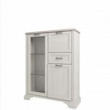 Шкаф с витриной MONAKO  1V2D1S