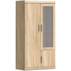 Шкаф-витрина ДЮНА 1V2D L-P