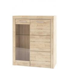 Шкаф-витрина OSKAR 1V1D