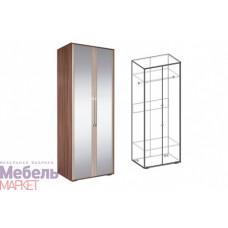 Шкаф 2-х створчатый с зеркалом Берта