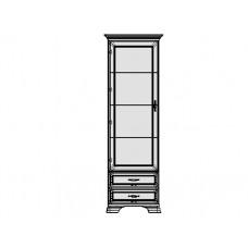 Шкаф ТИФАНИ с витриной 1V2S