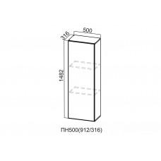 Пенал-надстройка 500  ПН500