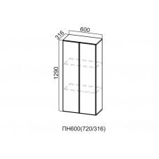 Пенал-надстройка 600/720 ПН600/720