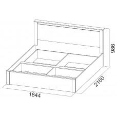 Гамма-20, Кровать двойная универсальная 1,8*2,0