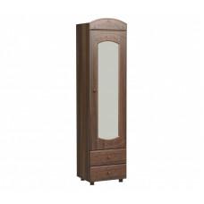 Шкаф-пенал с зеркалом Каролина