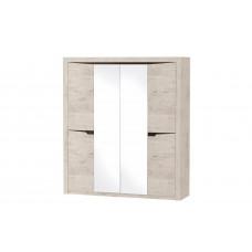 Соренто шкаф 4 дверный