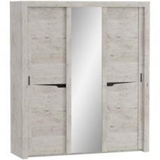 Соренто шкаф с раздвижными дверями (3 дв)