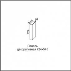 Панель декоративная (без фрезеровки) 724*545