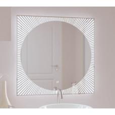 Зеркало с подсветкой Солнце 800*600